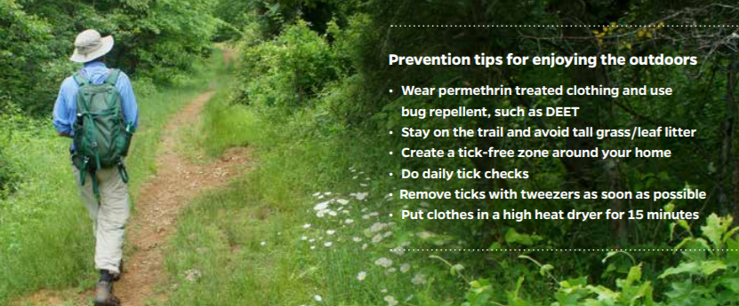 Lyme Disease Prevention, Tick Removal, & Health and Wellness Tips