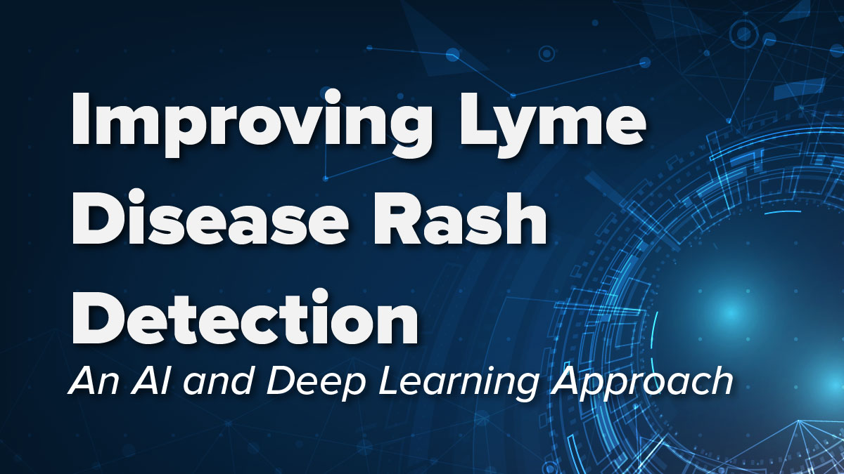 An artificial intelligence and deep learning-based approach can improve the early detection of the Lyme disease rash
